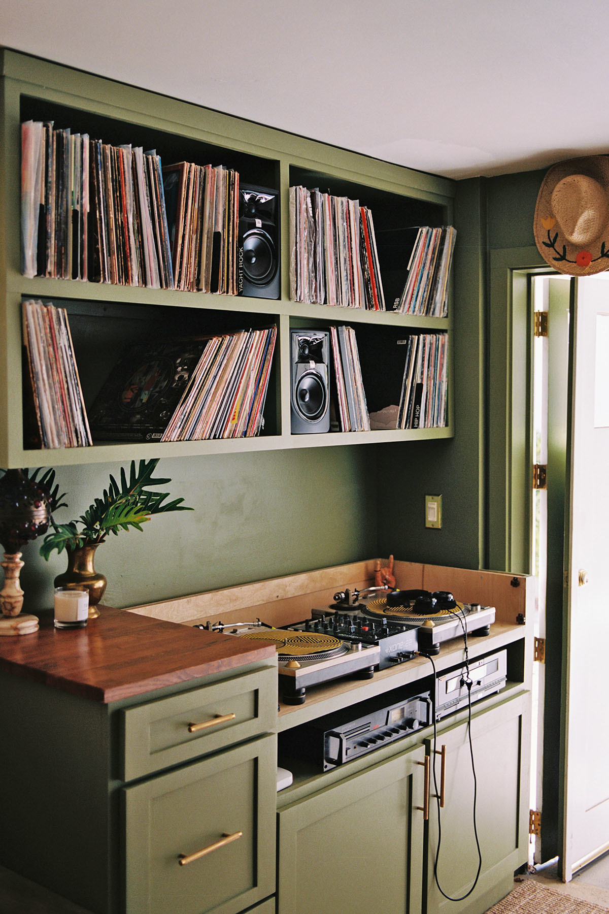 """I&squot;ve never felt luckier to live in the home that we do,"" Madison admits. ""When we bought the house we did a major renovation, but over the last three years I have taken my time to fill our home with pieces from our travels and items sourced at flea markets."" Behr Paint 