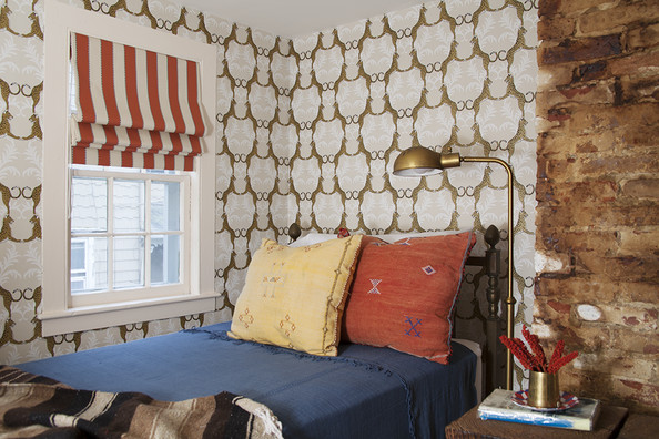 The Cheetah Wallpapered Bungalow