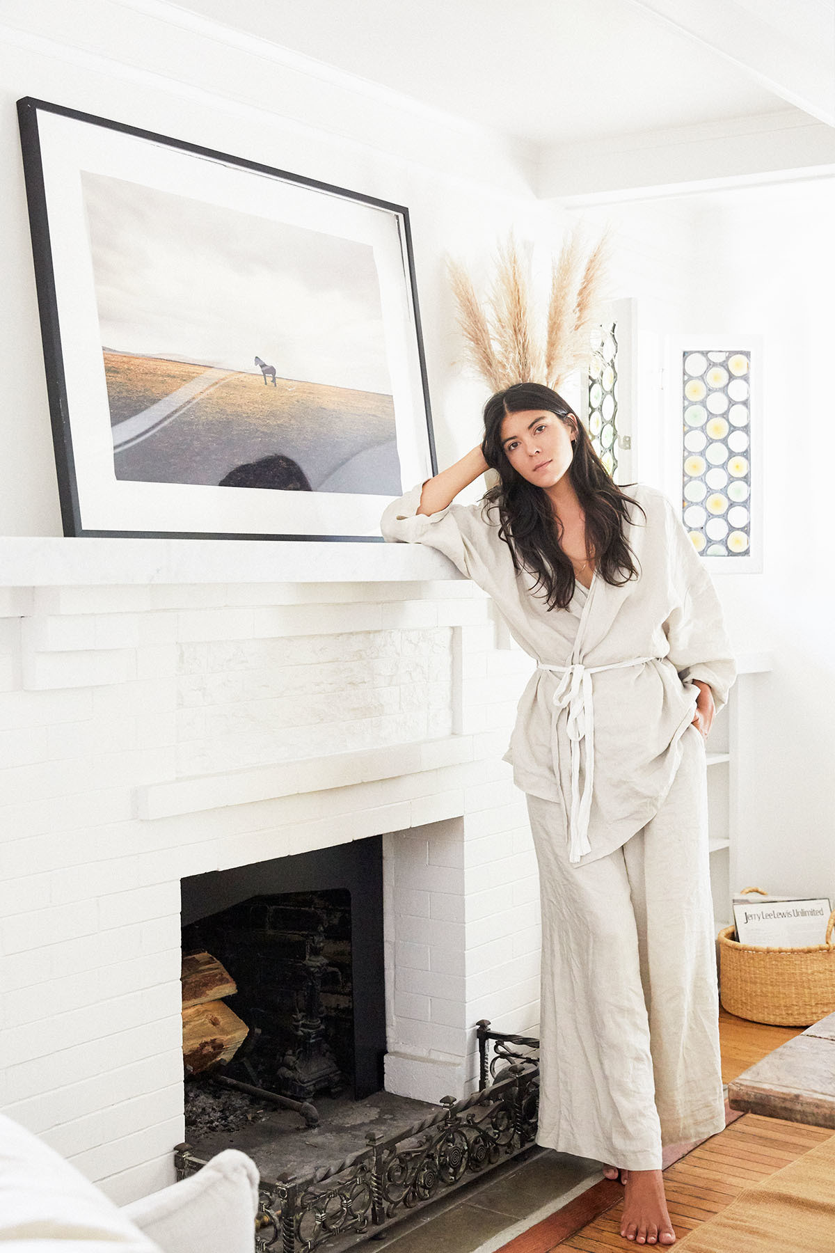 Beauty entrepreneur Neada Deters adheres to a textured, beach-inspired style code.