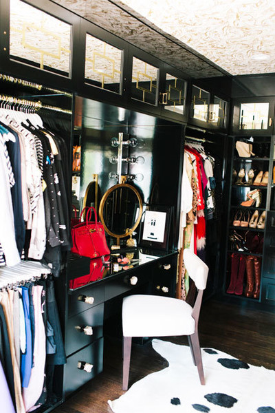 Since you work in fashion, was having a large closet space important?
