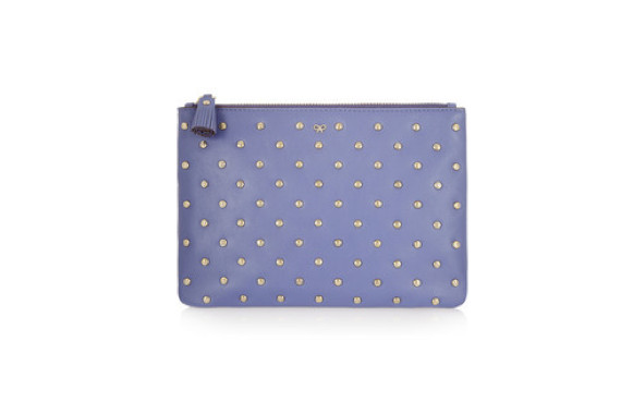 Joss Studded Leather Pouch by Anya Hindmarch