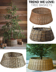 Trend We Love: Christmas Tree Baskets