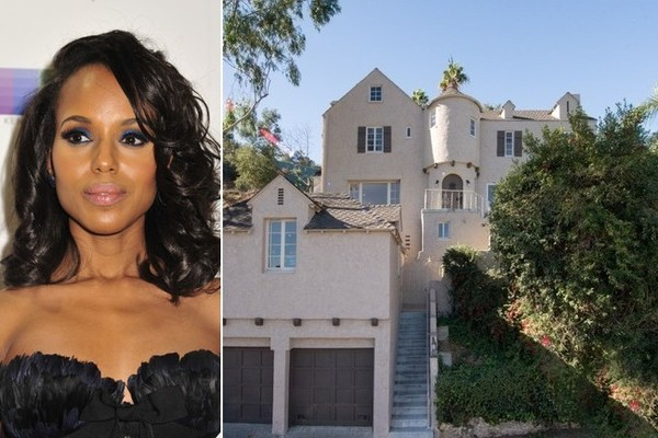 Kerry Washington Sells Her Hollywood Hills Home for $3 Million