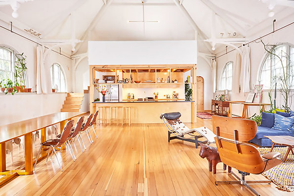 We're Totally Devoted To This Designer's Converted Hall