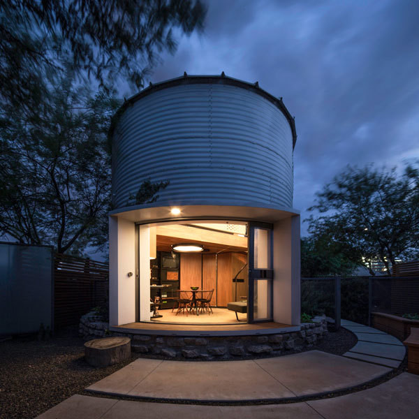 How One Couple Turned A Grain Silo Into
