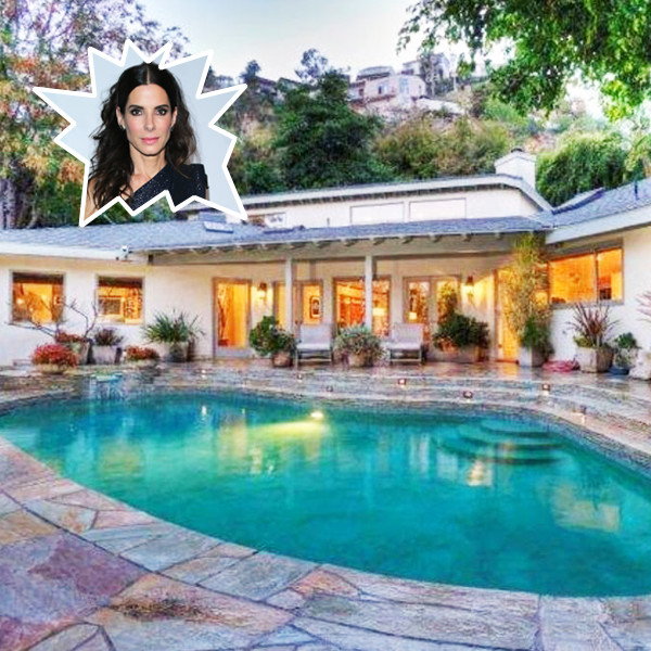 You Could Rent Sandra Bullock's Sunset Strip Home