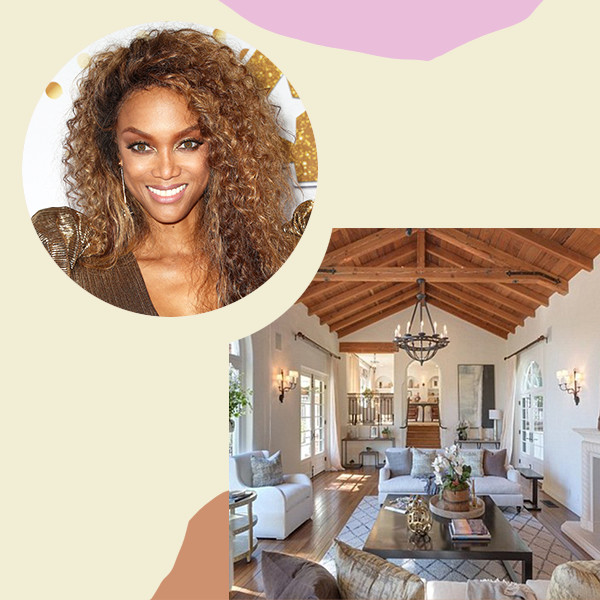 Tyra Banks's Beverly Hills Mansion