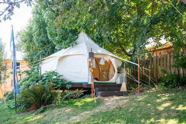 Urban Farm Glamping In Portland, OR - The Best Glamping