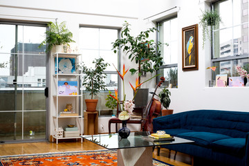 Inside The Plant-Filled Home Of The Woman Elevating Cannabis Magazines