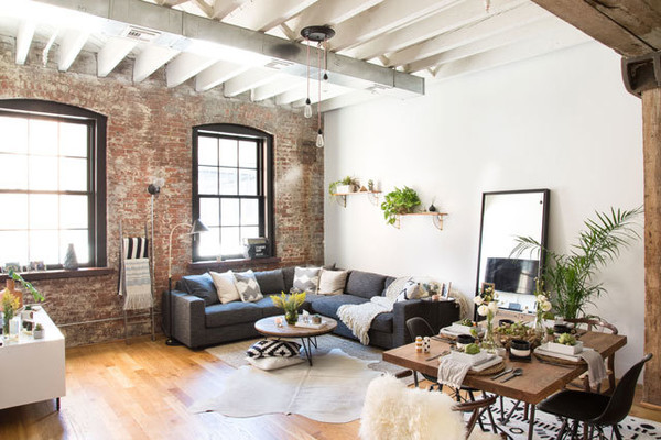 Industrial Yet Cozy Brooklyn Home
