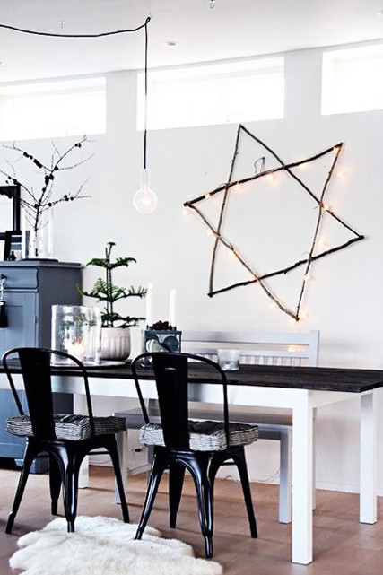 Go Natural How To Decorate For Chrismukkah Lonny