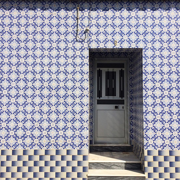 Outdoor Tile That Is Definitely Not For Squares