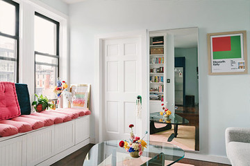 This Editor's SoHo Apartment Is A Stylish Burst Of Color