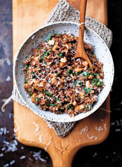 Yummy Supper Blogger Erin Scott's Red Rice Risotto