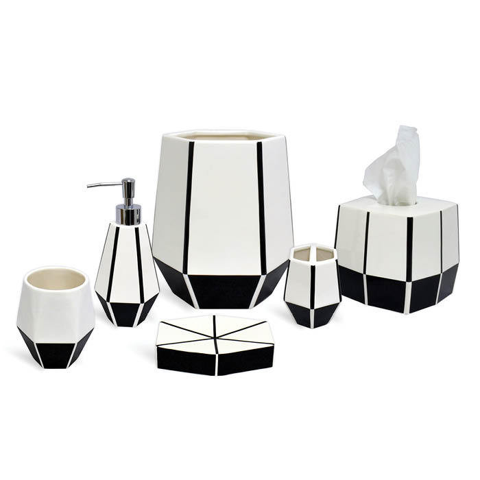Bathroom Accessories 2014 empire collectiondkny - the best bathroom accessories 2014 - lonny