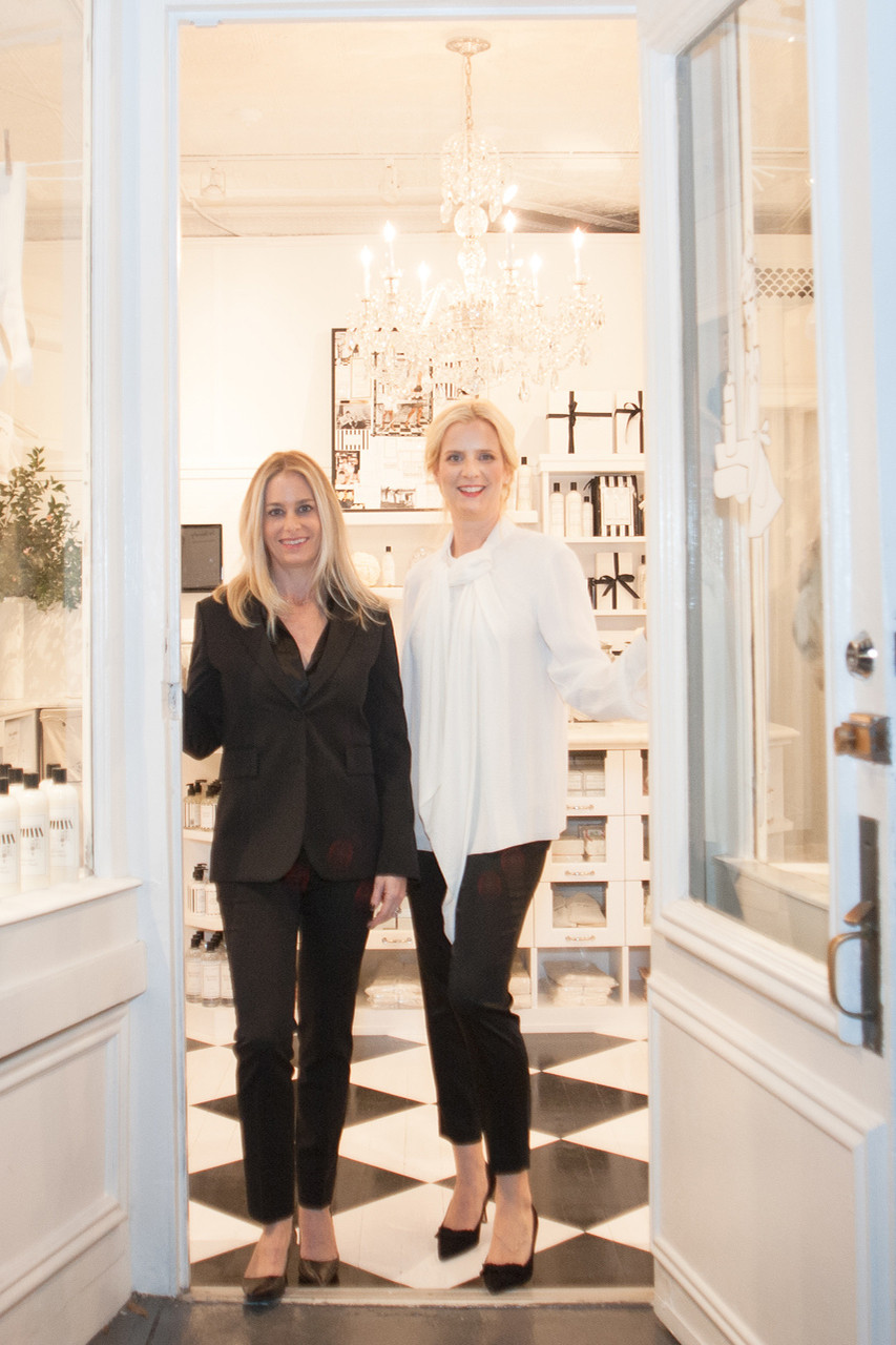 The Laundress founders Gwen Whiting and Lindsey Boyd.