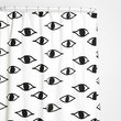 Eyes Shower Curtain by Magical Thinking x Urban Outfitters
