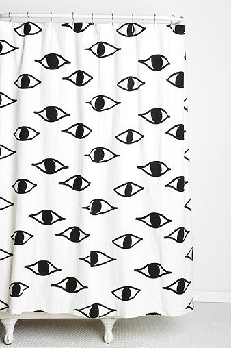 Eyes Shower Curtain by Magical Thinking x Urban Outfitters - Object ...