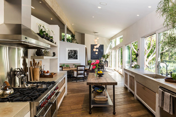 The Open Plan Patrick Dempseys Malibu Home Lonny