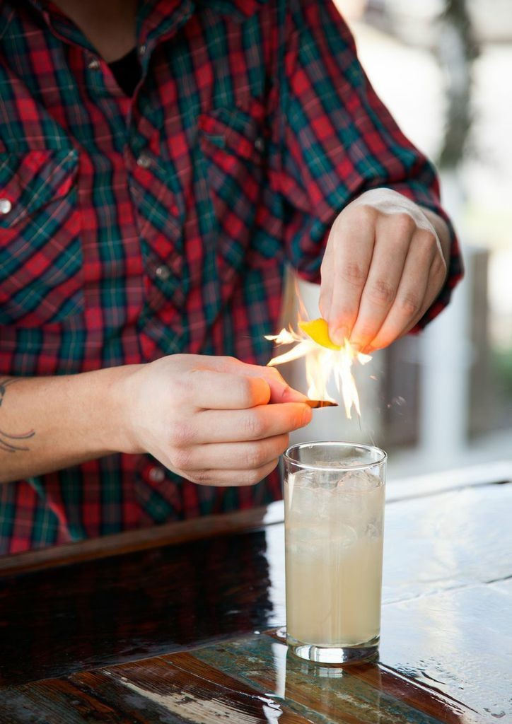 A Smoky Mezcal Cocktail from Odd Duck in Austin | Lonny.com