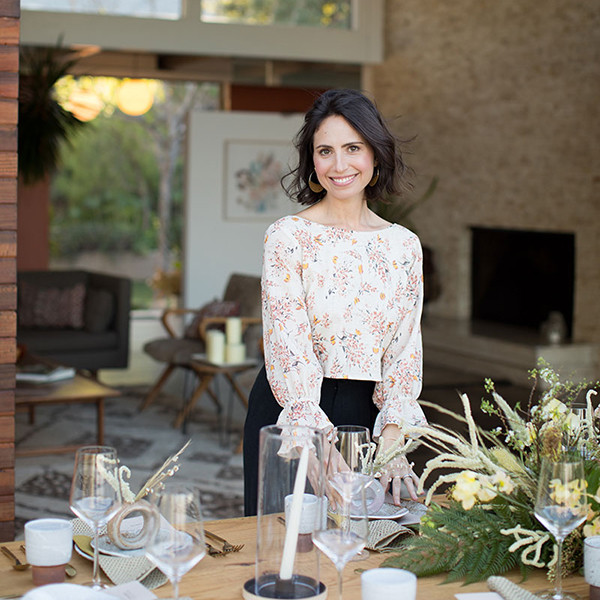 Inside A Los Angeles Designer's Moonlit Dinner Party