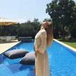 Bar Refaeli's Pool Pregnancy Pics