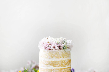 Naked Coconut Tres Leches Cake