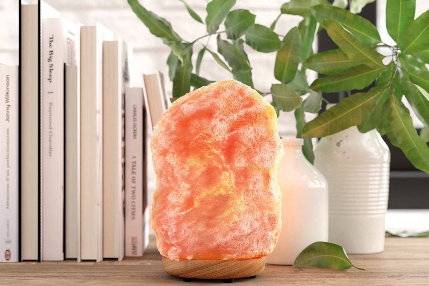Fun Ways To Add A Salt Rock Lamp To Your Home