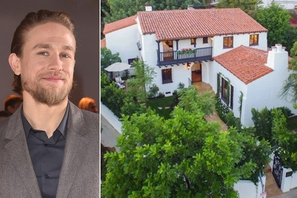 Charlie Hunnam Snags a Mediterranean Stunner in LA's Hollywood Hills