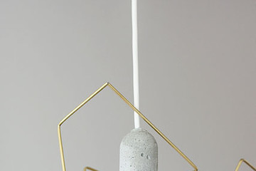 DIY To Try: Modern, Deceptively-Simple Light