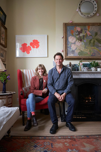 Home Tour: Dominic West and Catherine FitzGerald in London