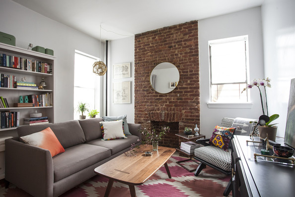 Home Tour: Katy Skelton's Small Apartment in Brooklyn