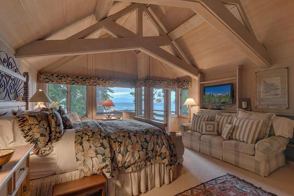 Room With A View - Inside Mark Zuckerberg's $59 Million Lake Tahoe Compound - Lonny