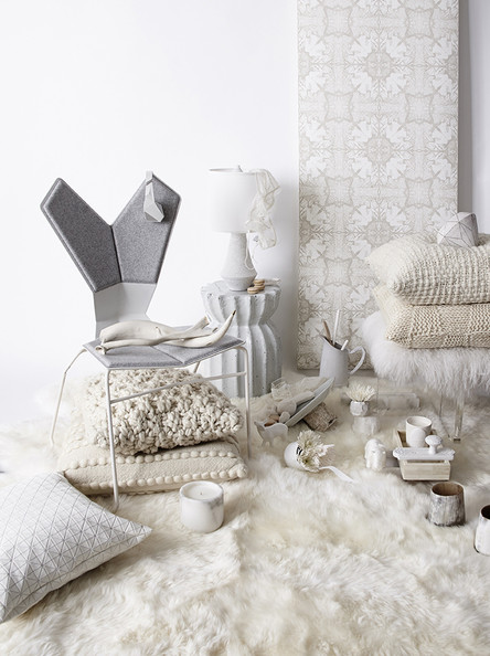 Color Combo of the Moment: Winter Whites