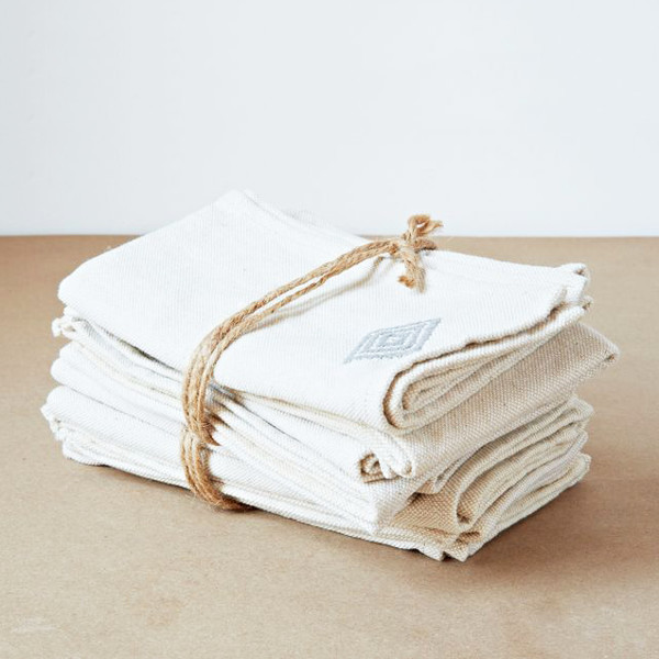 File Your Towels And Napkins Kondo-Style