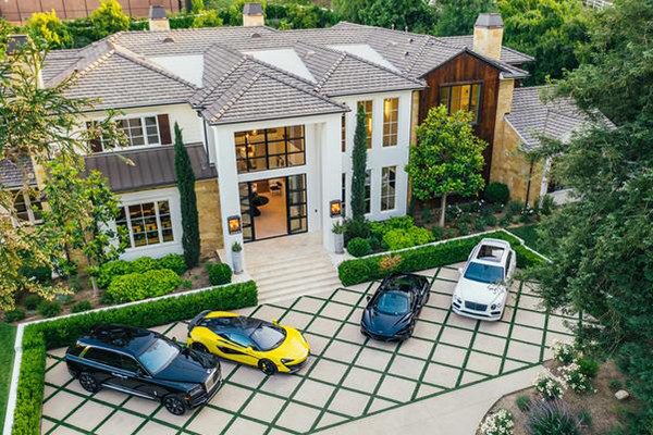 The Weeknd's $25 Million Hidden Hills Mansion Has A LED Garage Straight Out Of A Music Video