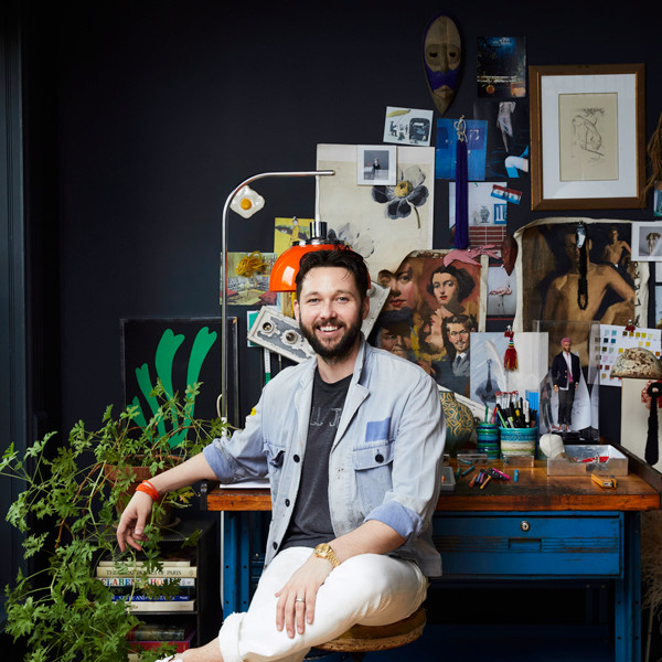 Designer Chris Benz's Colorful Brooklyn Brownstone