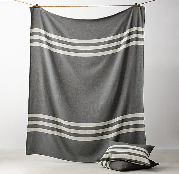 Reversible Beach Stripe Bedding