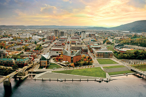 6. Chattanooga, Tennessee