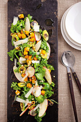 Autumn on a Plate, or the Best Harvest Salad Around