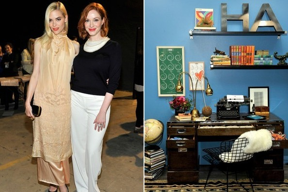 Jaime King, Christina Hendricks, and More Toast Hunters Alley