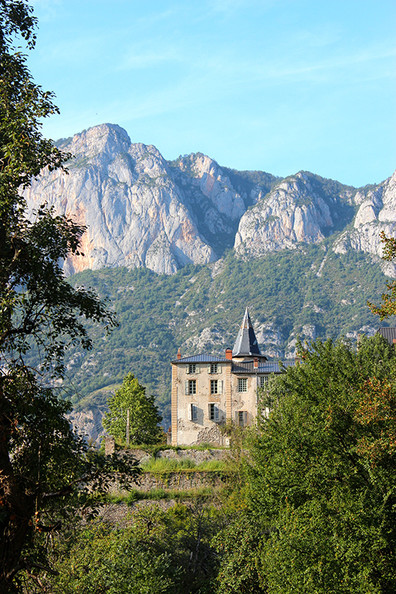 In the Pyrenees
