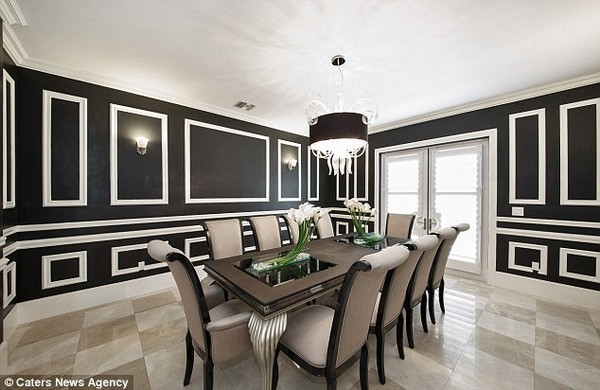 Jason Derulo's Dining Room