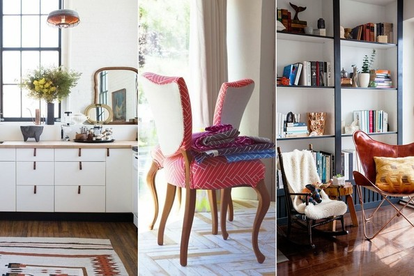 Customizing cookie-cutter cabinets, reupholstering a tired chair, DIYing nearly-built-in bookcases. Kick off 2015 by giving your home afresh look and some new functionality.