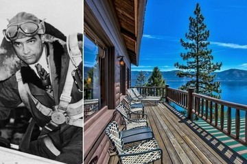 Howard Hughes's Former Summer Home on Lake Tahoe