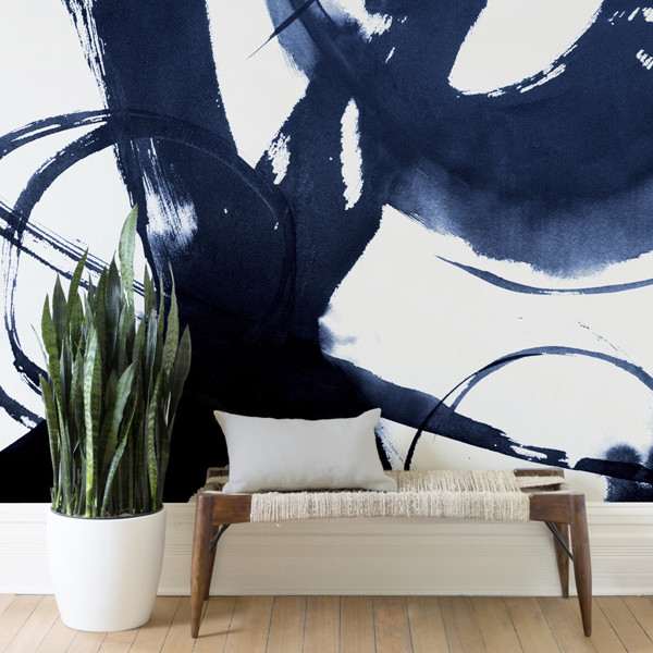 Minted's New Wall Murals Will Transform Your Apartment