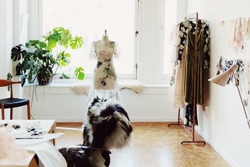 Inside The Studio Of S.F.'s Coolest Fashion-Designing Duo