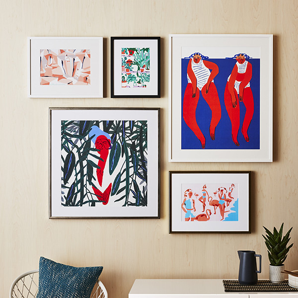 CB2 x Framebridge Is The Artful Collab Your Gallery Wall Needs
