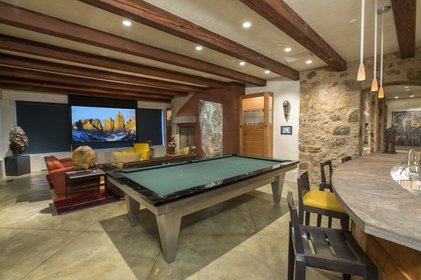 Game Room Step Inside Oprah S New 14 Million Colorado