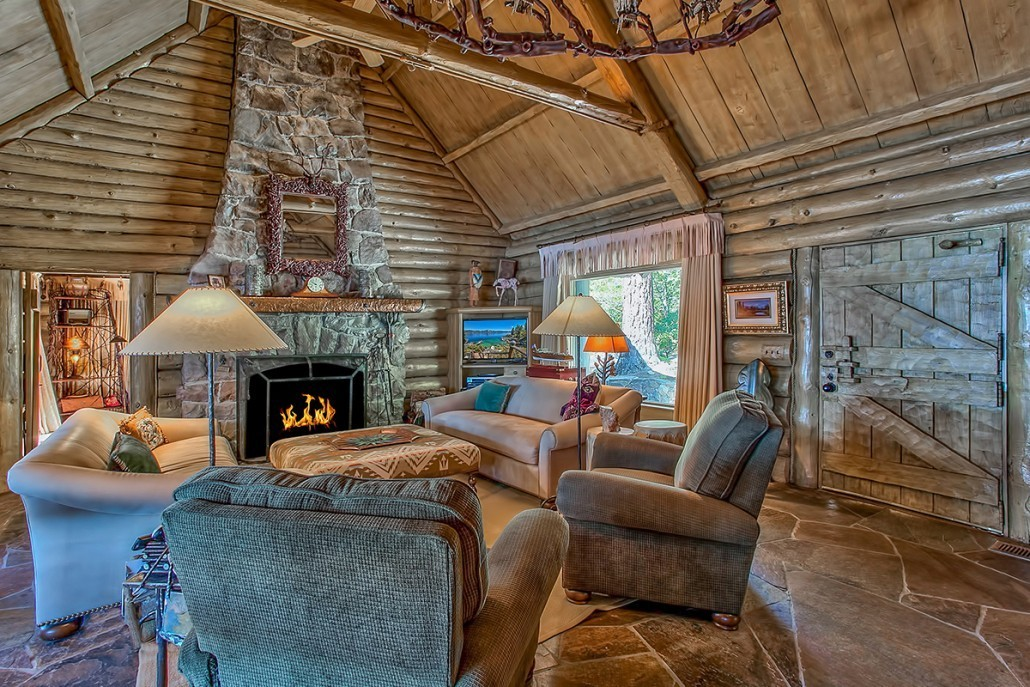 Hearth and Home - Howard Hughes's Former Summer Home on ...